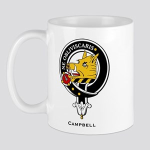 Campbell Clan Crest Badge Mug